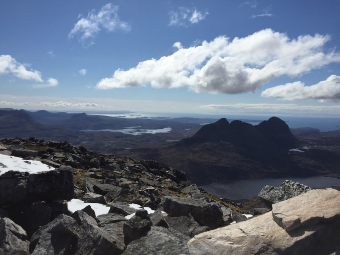 Suilven (again) from the summit cairn