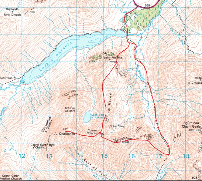 Fannichs map
