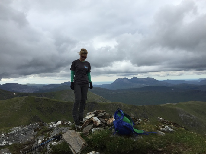 Summit of Sgurr Breac