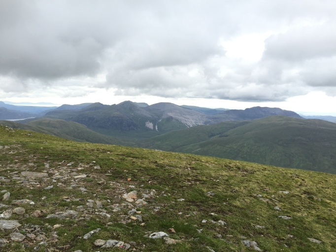 The slabs on Sgurr Ban