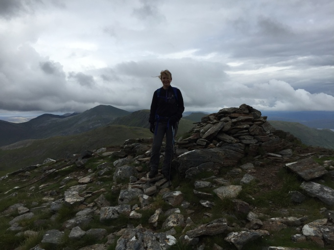 Summit of A'Chailleach