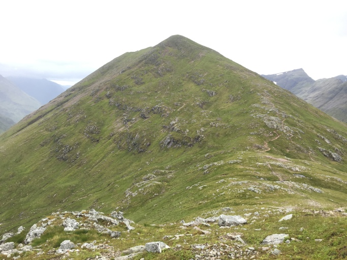 Stob Dubh from the bealach