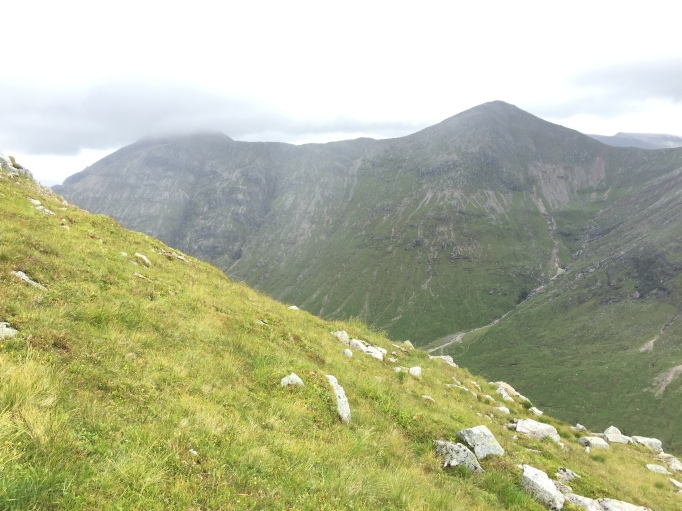 Looking across to Buichaille Etive Mor