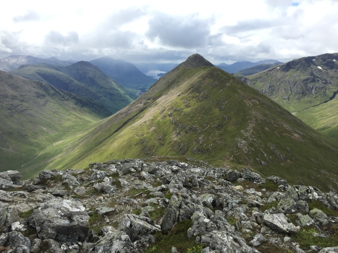 Looking over to Stob Dubh