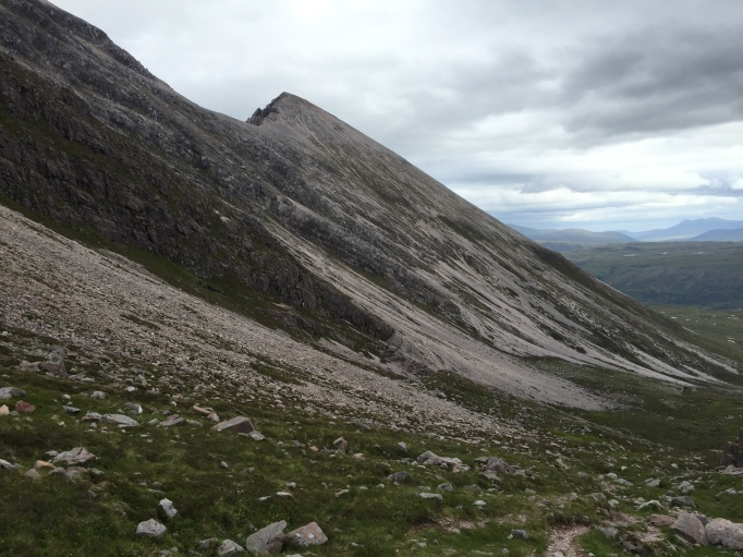Slopes of Beinn Eighe from the south