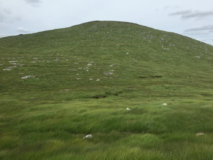 Looking back up to Mullwarchar