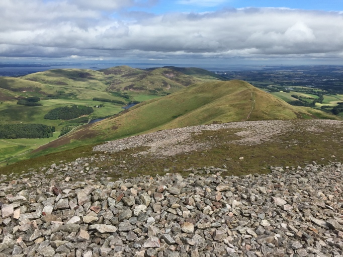 View from Carnethy Hill