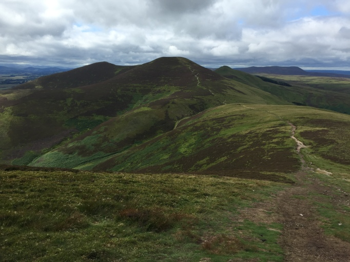 Looking to Scald Law from Carnethy Hill