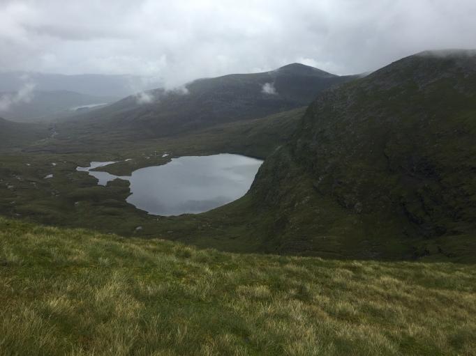 Loch a'Mhadaidh from Meall a' Chrasgaidh