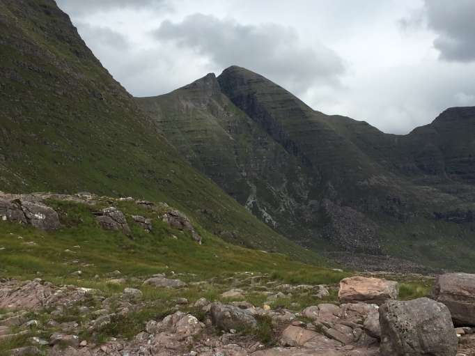 The cleft of Eag Dubh