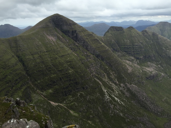 Sgorr Mor and the Horns beyond