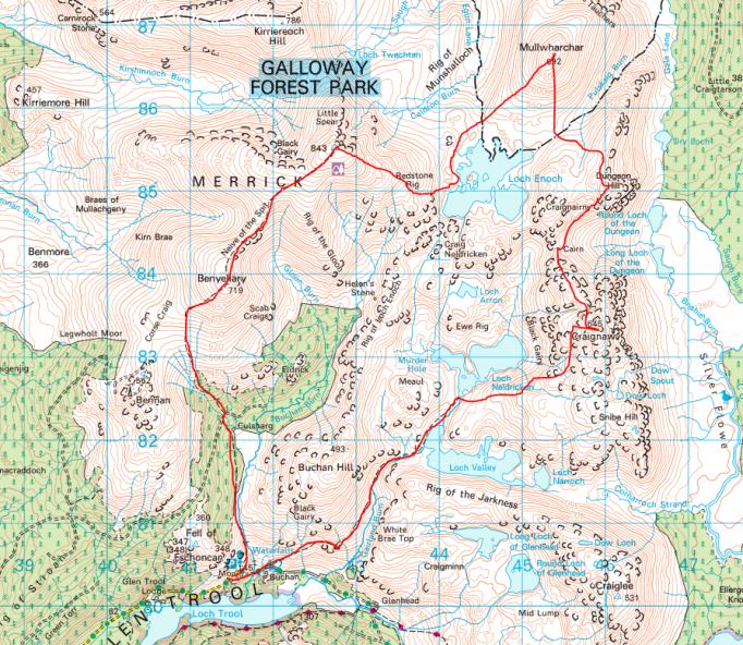 Themerrickmap