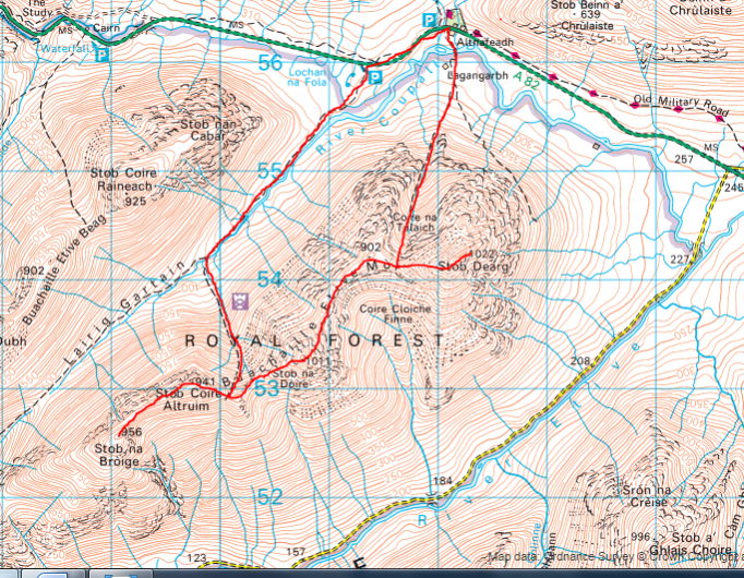 Buachaille map