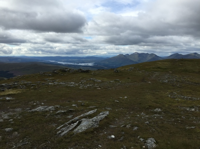 Summit views to Cruachan