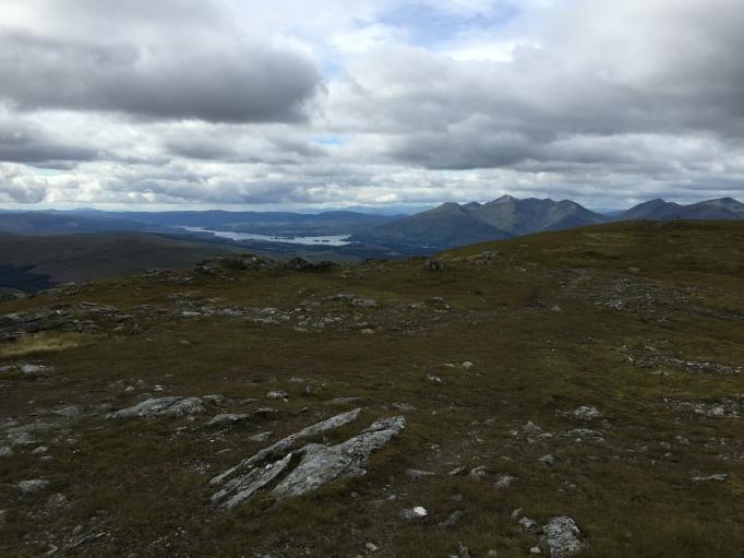 Summit views to Cruachan