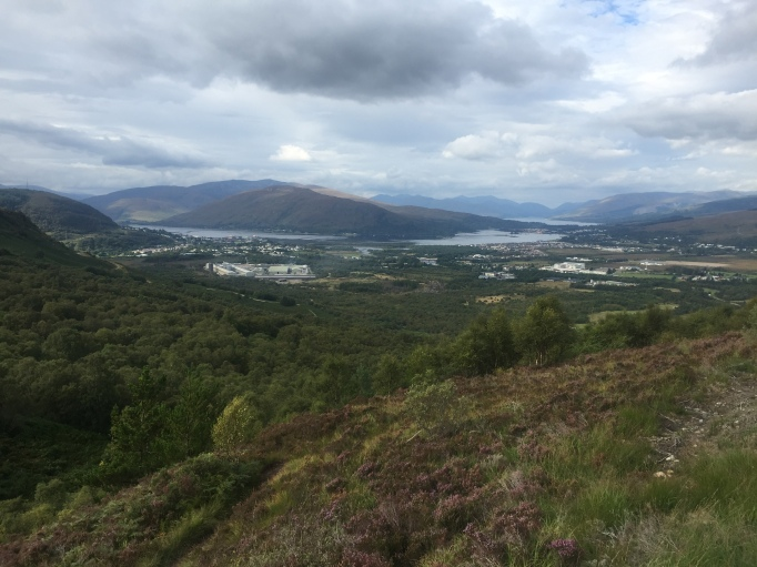 Towards Fort William in the daylight