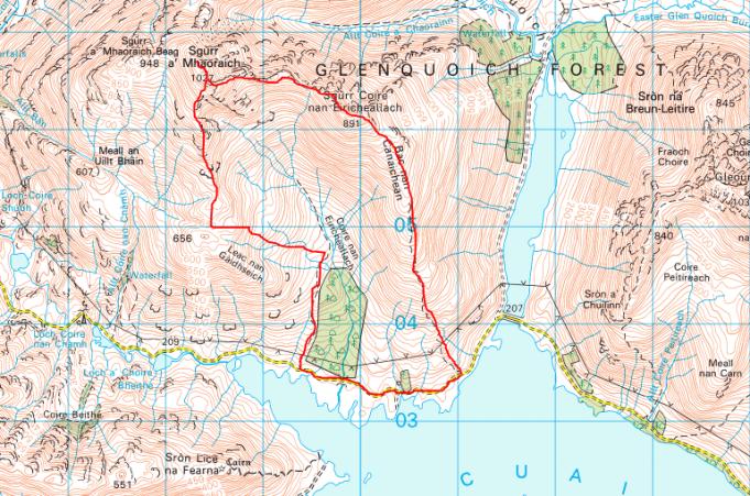 Sgurr a'M_map